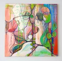 Vera-Weber-Plants-Fruits-Fantasy-Modern-Age-Expressionism-Abstract-Expressionism