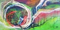 Vera-Weber-Nature-Fantasy-Modern-Age-Expressionism-Abstract-Expressionism