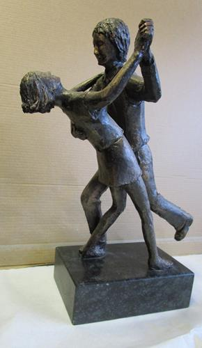 Helmut Schuster, Beim Tango, People, Contemporary Art