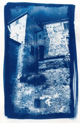 Frank Binder, Castelnuovo di Val di Cecina, Interiors: Villages, Symbol, Realism, Expressionism