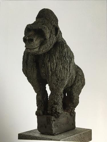 Adele Weiler, Gorilla, Animals, Abstract Art, Expressionism