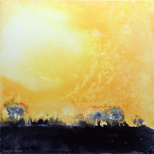 Joseph Wyss, N/T, Abstract art, Landscapes: Summer, Contemporary Art