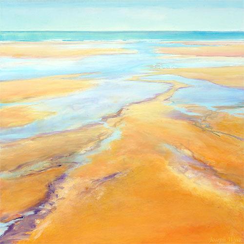 Joseph Wyss, Ebbe, Landscapes: Sea/Ocean, Landscapes: Beaches, Contemporary Art