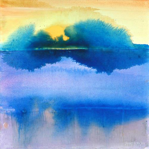Joseph Wyss, N/T, Landscapes: Summer, Nature: Water, Contemporary Art
