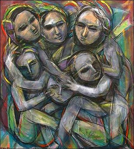 (E. Heriberto) Hestra, De la serie: La familia, People: Group, People: Children