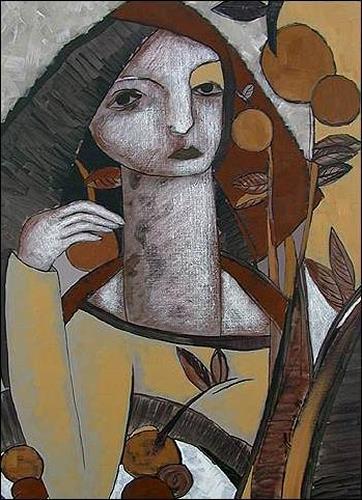 Pablo Peréa, De la serie: Recolectora, People: Women, Miscellaneous Plants