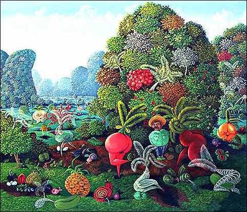 Ramón Vázquez, Los Romances de un Güajiro, Landscapes: Mountains, Landscapes: Tropics, Expressionism