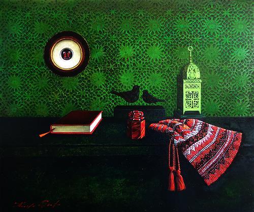 Ghenadie SONTU, The Secret, Still life, Emotions, Realism, Expressionism