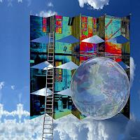 Dieter-Bruhns-Architecture-Fantasy-Contemporary-Art-Contemporary-Art