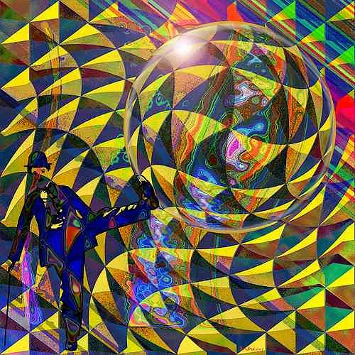 Dieter Bruhns, charlysDynamic, Fantasy, Movement, Contemporary Art