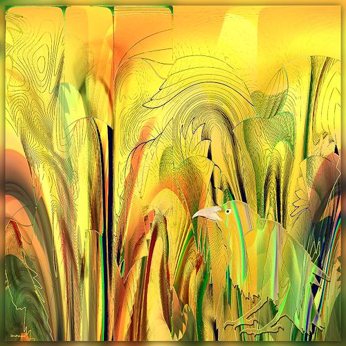 Dieter Bruhns, Fragrance, Abstract art, Abstract Art