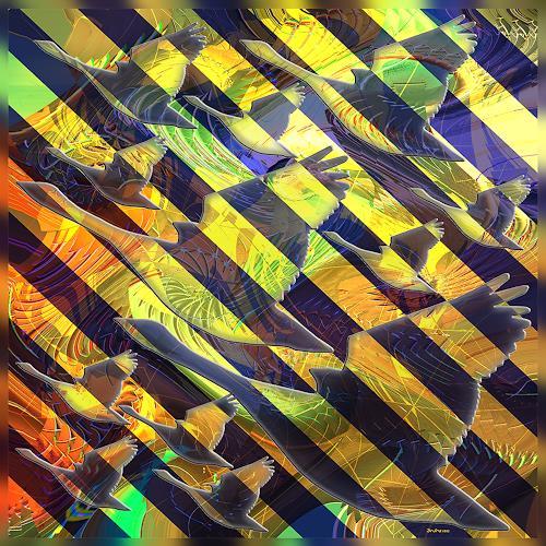 Dieter Bruhns, Start Up, Fantasy, Abstract Art