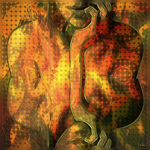 Dieter Bruhns, Daydream, Fantasy, Abstract Art