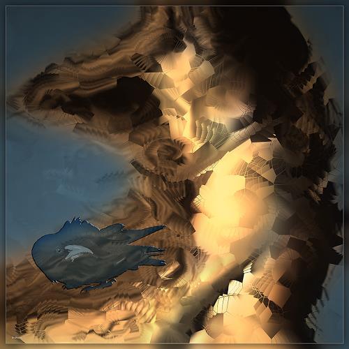 Dieter Bruhns, Hair, Fantasy, Abstract Art