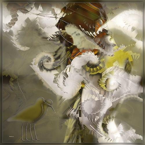 Dieter Bruhns, However, Fantasy, Abstract Art
