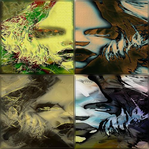 Dieter Bruhns, Compilation, Fantasy, Abstract Art