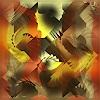 Dieter Bruhns, Stairways, Fantasy, Abstract Art