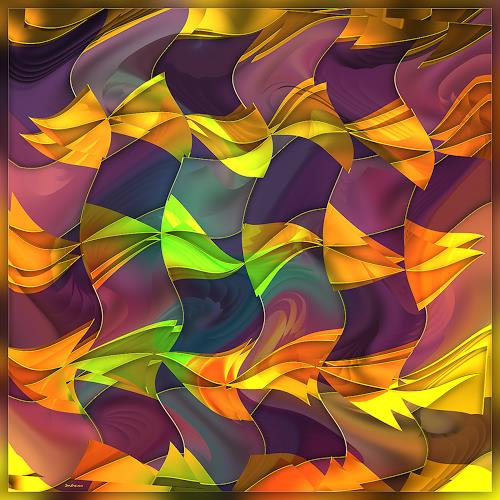 Dieter Bruhns, Bach.Toccata in E minor, Music, Abstract Art