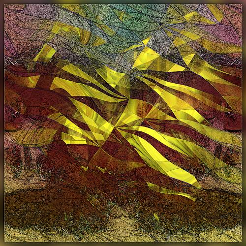 Dieter Bruhns, Bob Dylan.Subterranean Homesick Blues, Music, Abstract Art