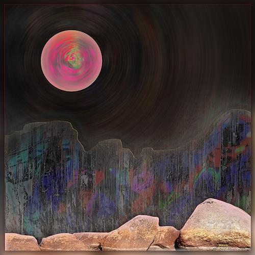 Dieter Bruhns, On the Rocks, Fantasy, Abstract Art