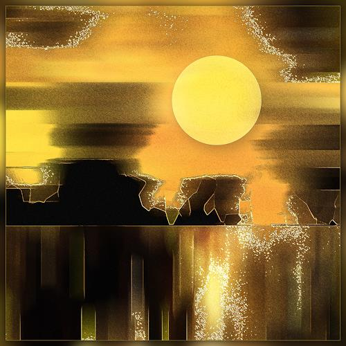 Dieter Bruhns, Sunset, Fantasy, Abstract Art
