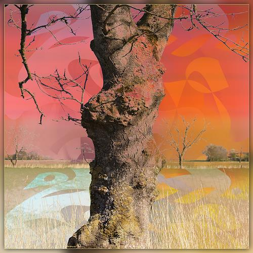 Dieter Bruhns, Dreamland, Landscapes, Abstract Art, Expressionism