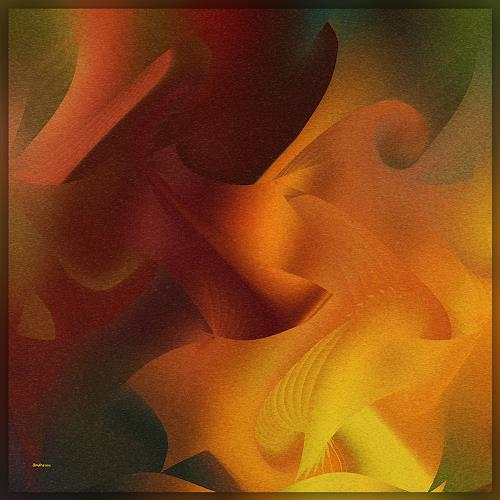 Dieter Bruhns, Feels Like..., Abstract art, Abstract Art