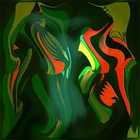 Dieter-Bruhns-Nude-Erotic-motifs-Modern-Age-Abstract-Art