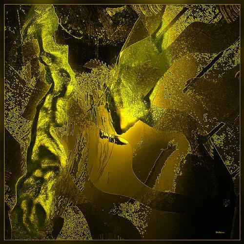 Dieter Bruhns, Cave Light, Abstract art, Abstract Art