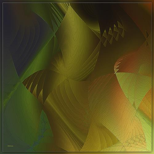 Dieter Bruhns, Sinphonie, Abstract art, Abstract Art