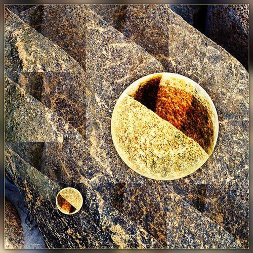 Dieter Bruhns, Granite, Landscapes, Abstract Art