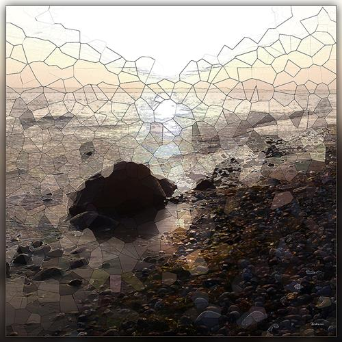 Dieter Bruhns, Stones' Order, Landscapes, Abstract Art