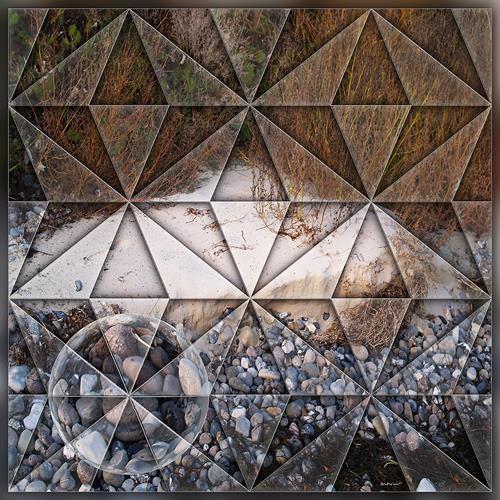 Dieter Bruhns, Split, Landscapes, Abstract Art