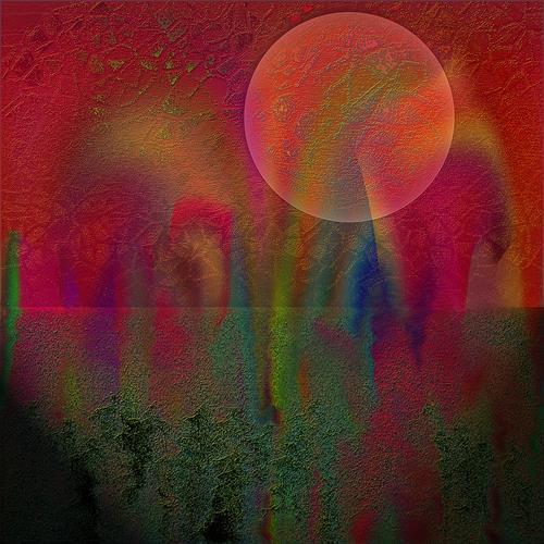 Dieter Bruhns, Home Run, Abstract art, Abstract Art