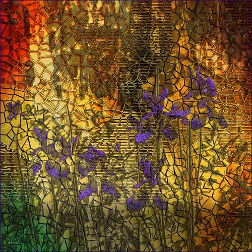 Dieter Bruhns, Masonry, Abstract art, Abstract Art