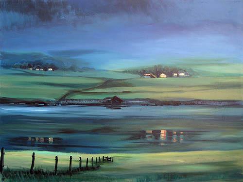 Diana Krasselt, Sleeping Beauty, Landscapes: Mountains, Nature: Water, Contemporary Art