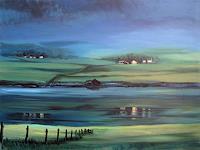 Diana-Krasselt-Landscapes-Mountains-Nature-Water-Contemporary-Art-Contemporary-Art