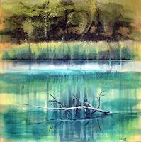 Diana-Krasselt-Landscapes-Spring-Nature-Water-Modern-Age-Modern-Age