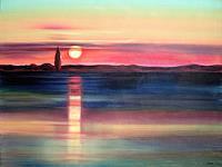 Diana-Krasselt-Landscapes-Sea-Ocean-Romantic-motifs-Sunset