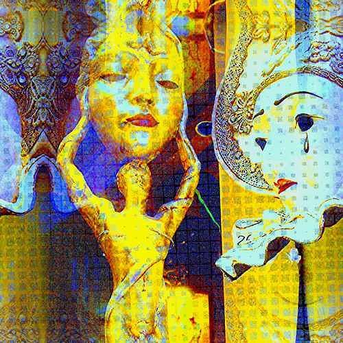 Edeltraud Kloepfer, Serenissima, Venedig, Fantasy, Modern Age, Expressionism