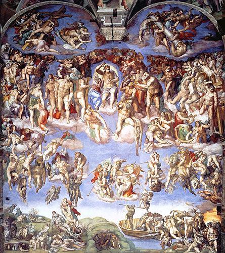 Michelangelo, Das Jüngste Gericht, Religion, Mannerism