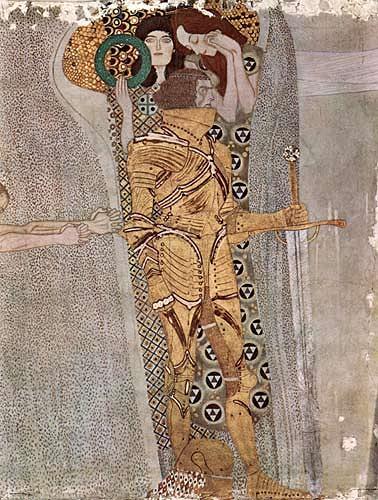 Gustav Klimt, Der goldene Ritter, People: Men, Emotions: Pride, Art Nouveau