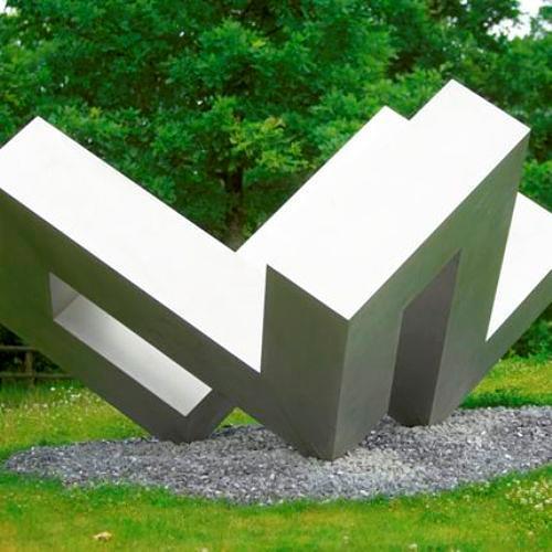Andrea Malaer, Der unendliche Winkel auf den Spitzen, Abstract art, Miscellaneous, Kunst am Bau, Abstract Expressionism