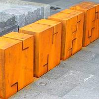 A. Malaer, Grafikskulptur - die fortschreitende Linienstruktur