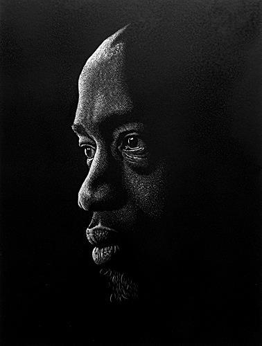 Dietrich Moravec, Porträt, People: Men, People: Faces, Realism