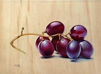 D. Moravec, Rote Weintrauben/Red Grapes