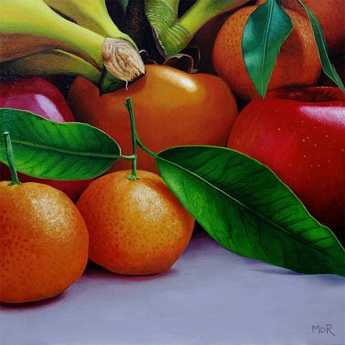 Dietrich Moravec, Multi Kulti, Plants: Fruits, Meal, Photo-Realism, Expressionism