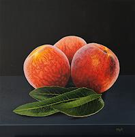 D. Moravec, Peaches and Leaves