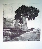 Dietrich-Moravec-Landscapes-Mountains-Nature-Rock-Modern-Age-Naturalism