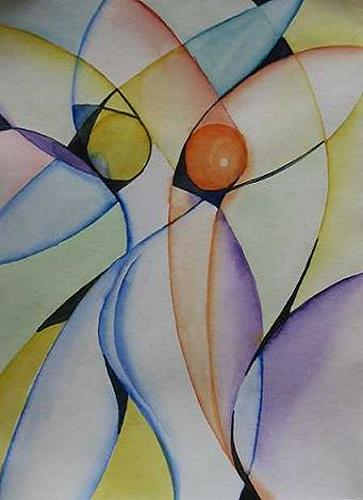 Petra Tränkner, Figürliches II, Abstract art